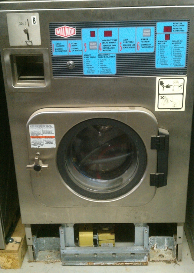 Milnor Washer Machines ~ Milnor lb double load washers pre owned commercial